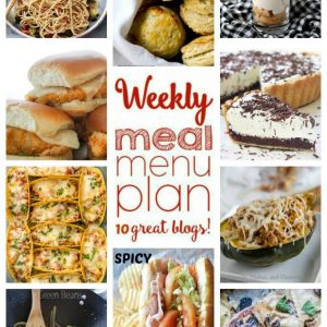 Weekly Meal Plan for January 4 – January 10