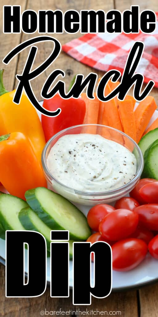 Quick and easy homemade Ranch Dip