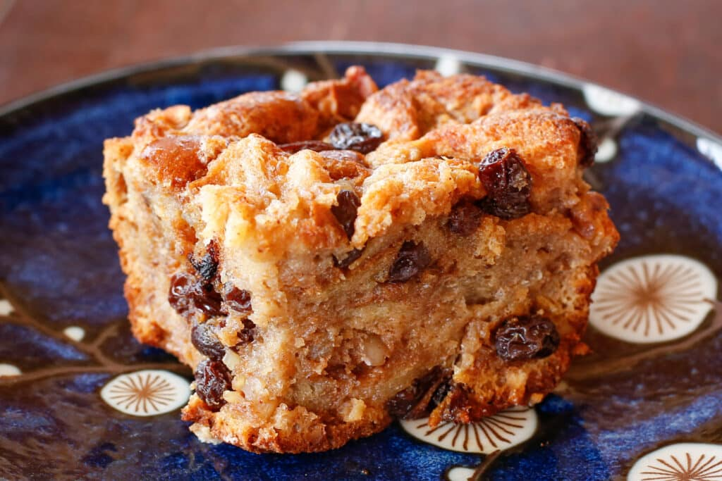 Challah Bread Pudding - get the recipe at barefeetinthekitchen.com