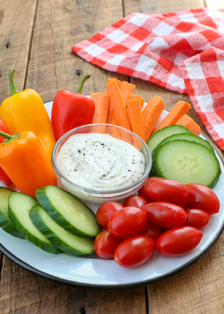 Ranch Dip is everyone's favorite dip for vegetables or for chips