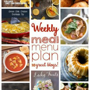 Weekly Meal Plan for February 1 – February 7