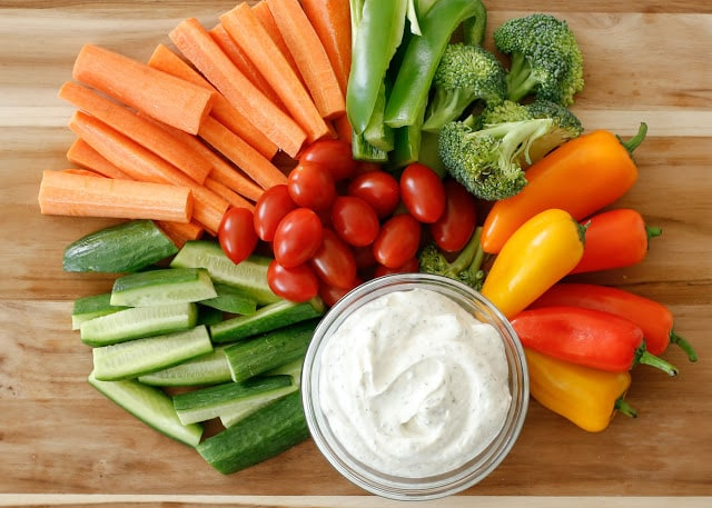 Make Your Own Homemade Ranch Dip in just minutes - get the recipe at barefeetinthekitchen.com
