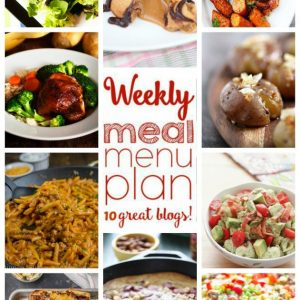 Weekly Meal Plan for February 15 – February 21