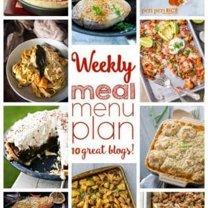 Weekly Meal Plan for February 29 – March 6