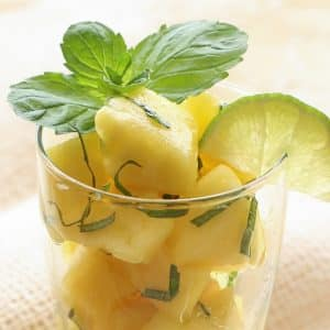 Pineapple Mojito Fruit Salad