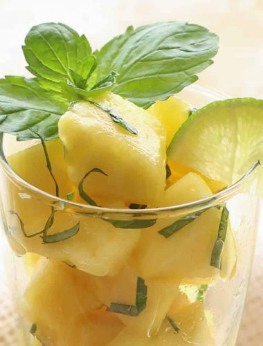 Pineapple Mojito Fruit Salad