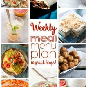 Weekly Meal Plan for March 21 – March 27