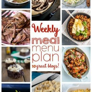 Weekly Meal Plan for March 7 – March 13