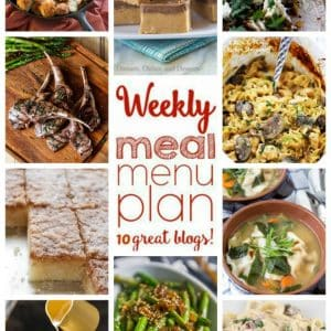 Weekly Meal Plan for March 28 – April 3