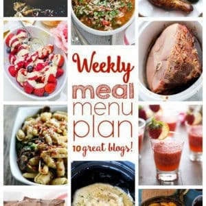 Weekly Meal Plan for March 14 – 20