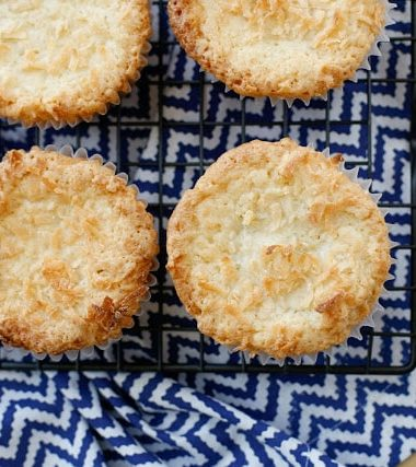 Mini Coconut Pound Cakes
