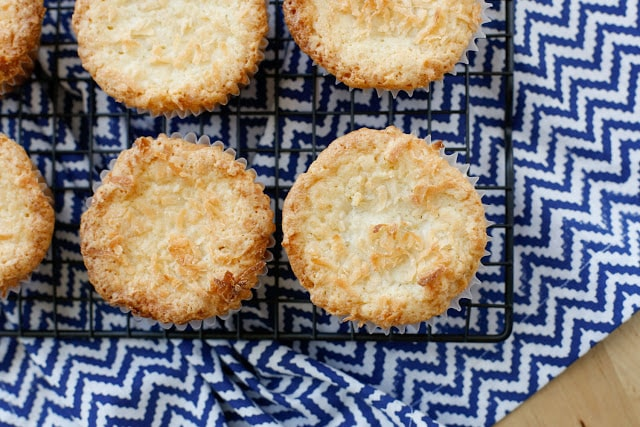Mini Coconut Pound Cakes - get the recipe at barefeetinthekitchen.com