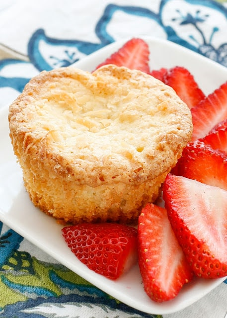 Mini Coconut Pound Cakes are perfect bites of coconut heaven! - get the recipe at barefeetinthekitchen.com