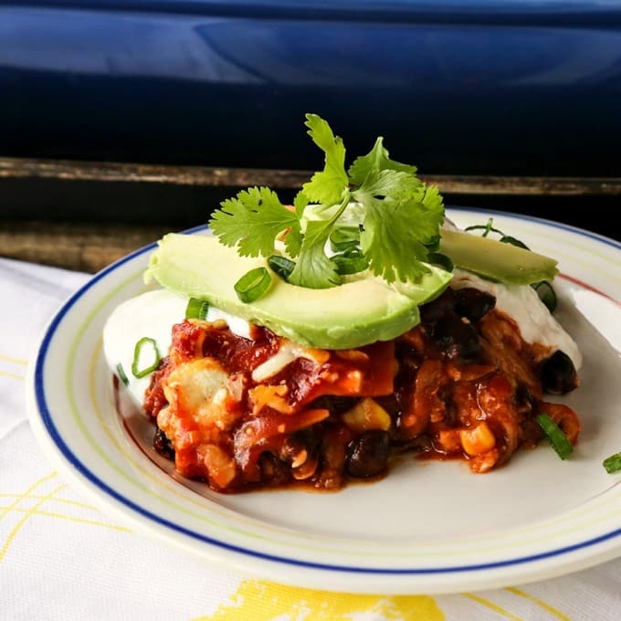 Easy TexMex Lasagna {Foodie with Family}