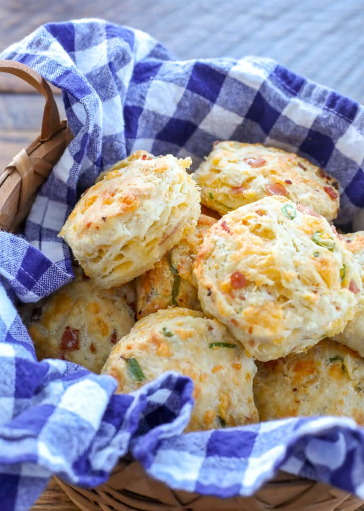 Ham and Cheese Biscuits are a breakfast, lunch, and dinner favorite here!