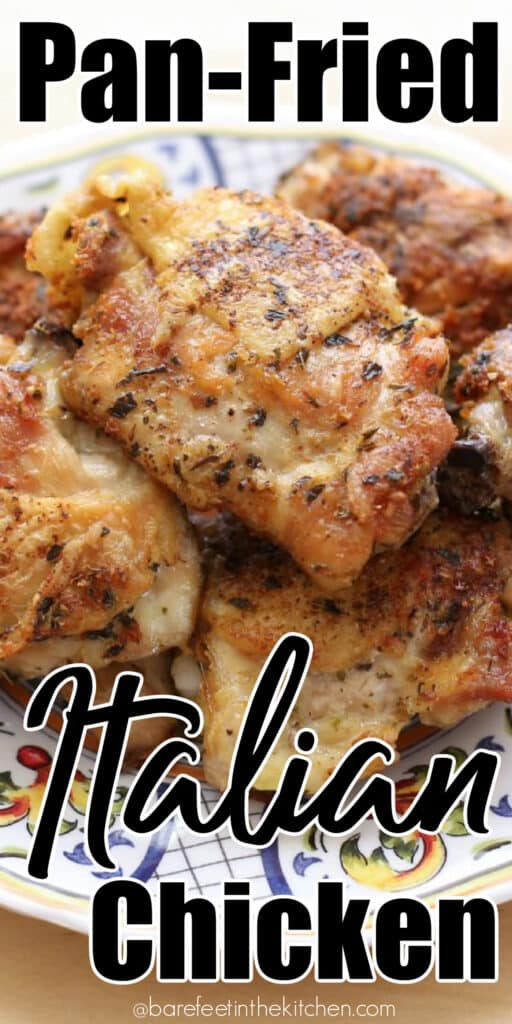 Pan Fried Italian Chicken