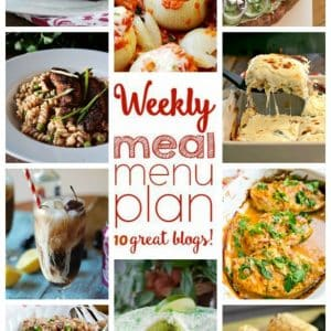 Weekly Meal Plan for April 24 – May 1st