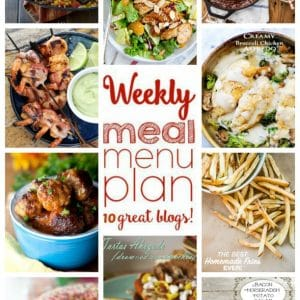 Weekly Meal Plan for May 2 – May 8