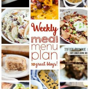 Weekly Meal Plan for April 11 – April 17