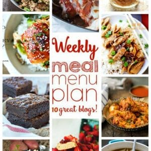 Weekly Meal Plan for April 18 – April 24