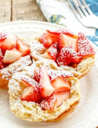 Miniature German Pancakes are a favorite weekend breakfast!