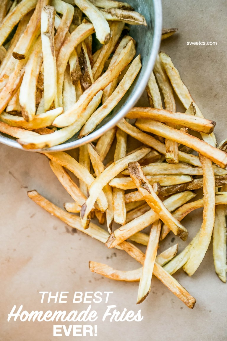 Best Homemade French Fries {Sweet C's Designs}
