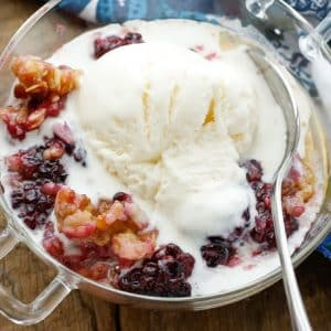 Blackberry Coconut Crisp
