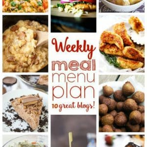 Weekly Meal Plan for May 30 – June 5