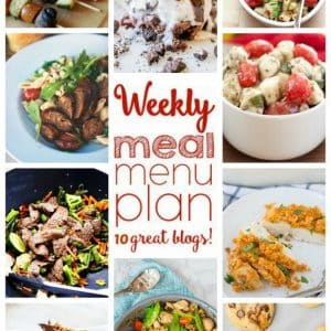 Weekly Meal Plan for May 9 – May 15