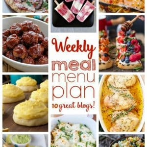Weekly Meal Plan for May 16 – May 22
