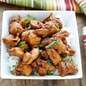 Huli Huli Chicken Bites