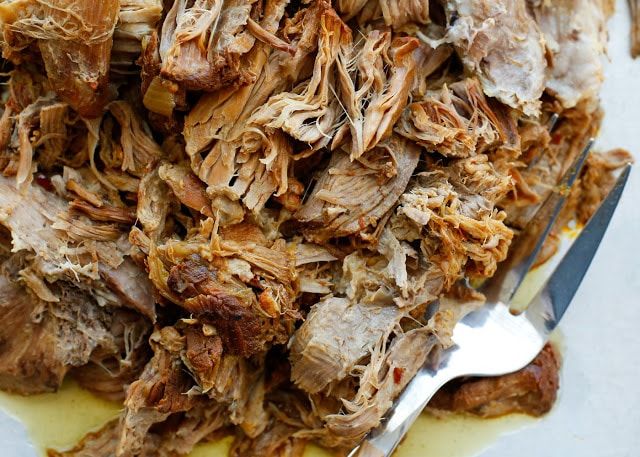 crock pot pulled pork tacos and then some