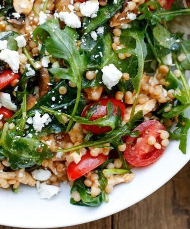 Summer Israeli Couscous Salad