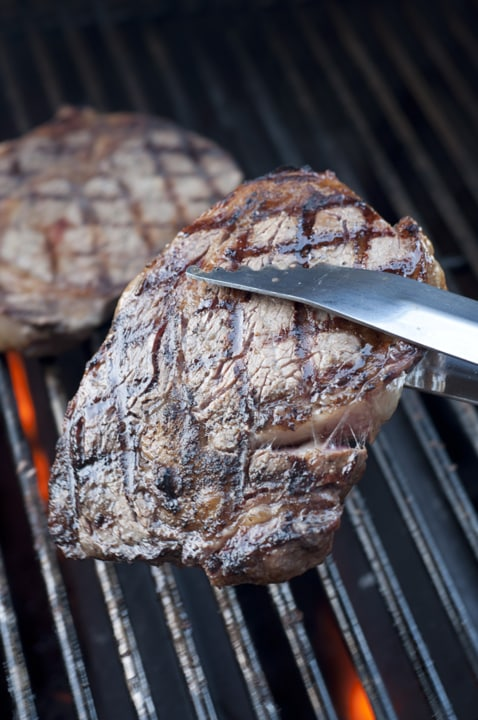Grilling the Perfect Ribeye Steak {Wishes & Dishes}