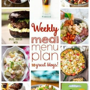 Weekly Meal Plan for June 20 – 26