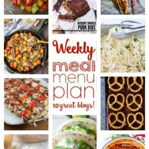 Weekly Meal Plan for June 13 – June 19