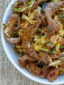 Mongolian Beef Noodle Bowls are tastier than take-out and you're sure to love them!