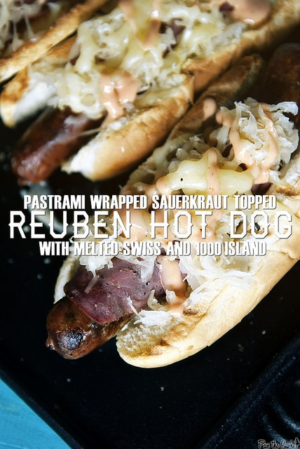Reuben Hot Dogs {Girl Carnivore}