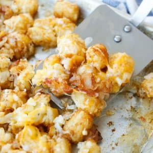 Cheesy Bacon Tater Tots