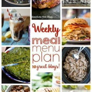 Weekly Meal Plan for July 4 – July 10 {plus a giveaway for $500 CASH!}