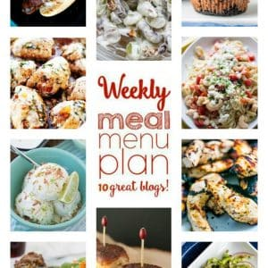 Weekly Meal Plan for July 11 – July 17