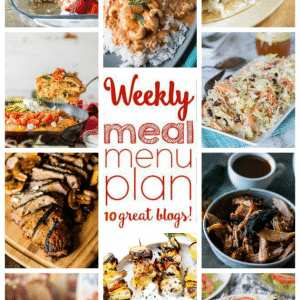 Weekly Meal Plan for July 25 – July 31