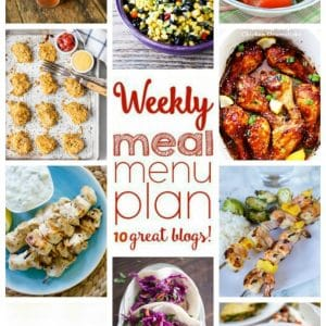 Weekly Meal Plan for August 1 – August 7