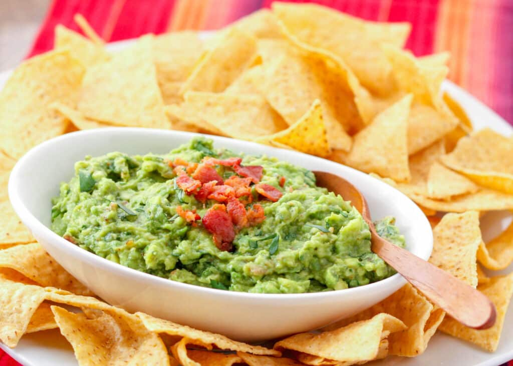Bacon Guacamole is a huge favorite!