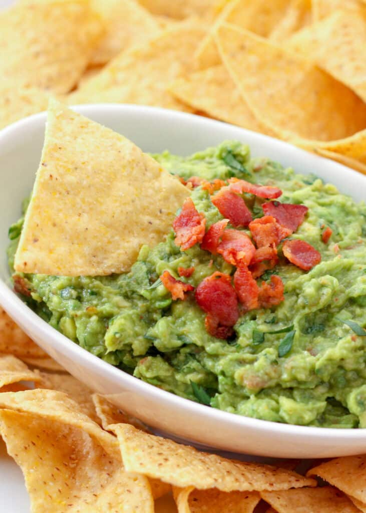 Guacamole with BACON? Yes, please!