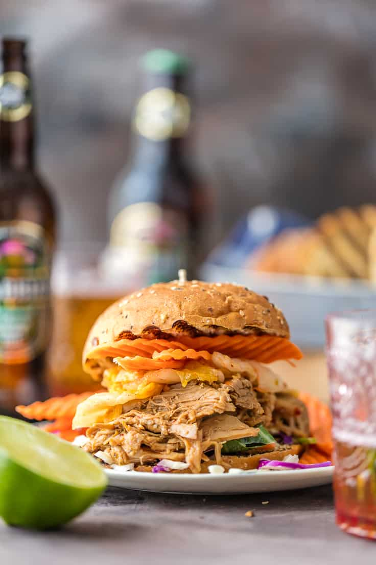 Ginger Pulled Pork {The Cookie Rookie}