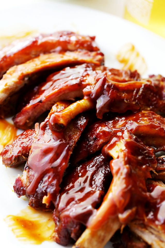 Barbecue Ribs {Diethood}