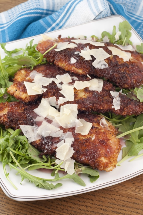 My Favorite Breaded Chicken Cutlets {Wishes & Dishes}