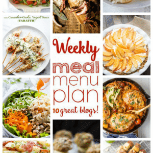 Weekly Meal Plan for August 8 – August 14