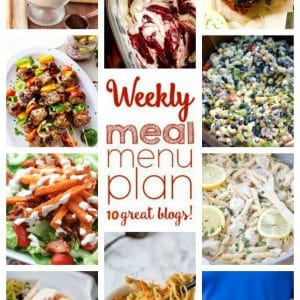 Weekly Meal Plan for August 15 – August 21